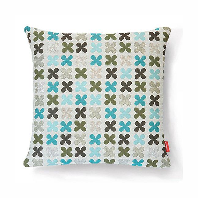 Maharam Quatrefoil Pillow by Alexander Girard