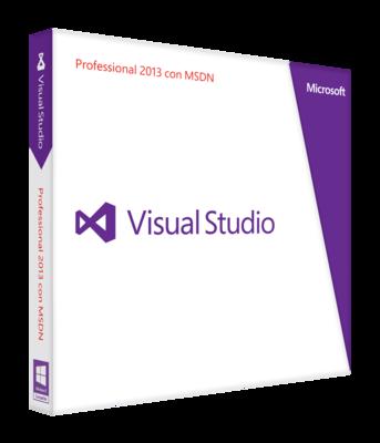Visual Studio Professional con MSDN abbonamento triennale, rinnovo prima rata