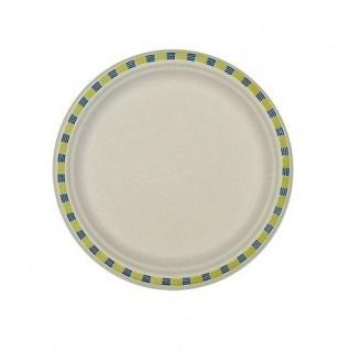 Пирожковая тарелка (порционная) одноразовая 17см