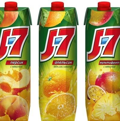 Сок J7 1л.