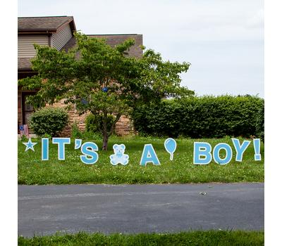 It's A Boy Yard Cards