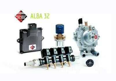 Комплект BRC ALBA 32 4 цил. GP13 МВ1200 (до 90 КВ)