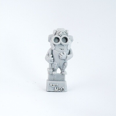 Tankman-Minion with a sledgehammer resin figure