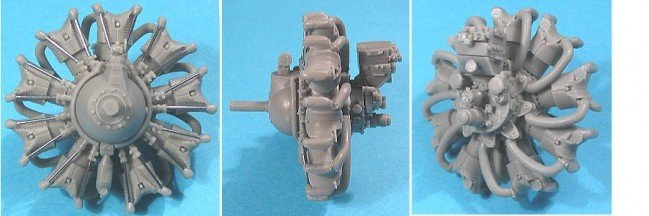 1/32 Wright R-1820-G (late) Engine Vector Resin #32-006