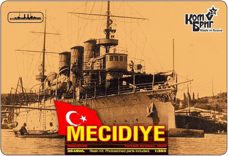 Combrig 1/350 Cruiser Mecidiye, 1903, resin kit #3548FH
