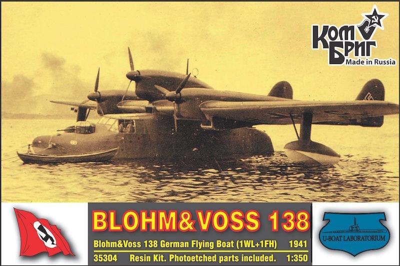 Combrig 1/350 Blohm&Voss BV-138, resin kit #A35304