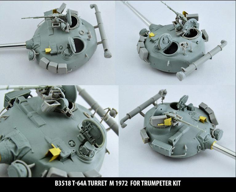 Miniarm 1/35 T-64A Turret m1972, includes PE part