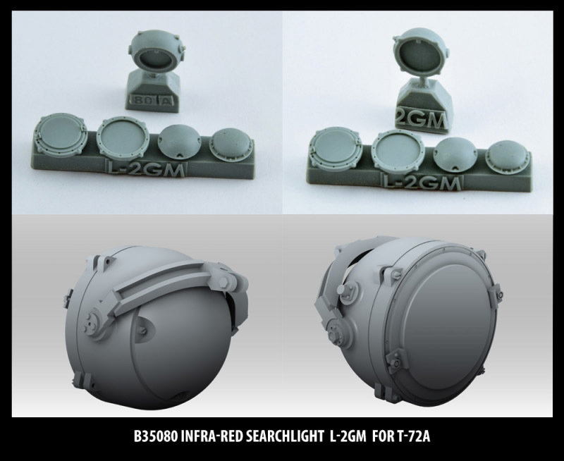 Miniarm 1/35 Infra-red searchlight L-2GM for T-72A