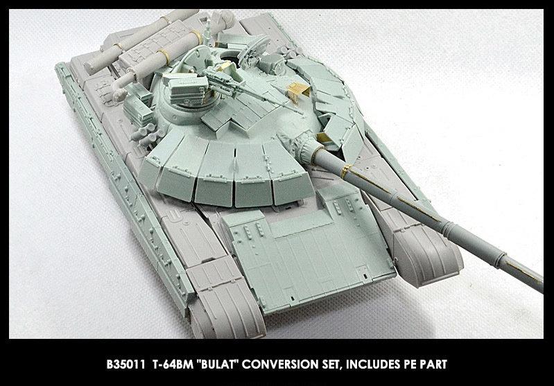 Miniarm 1/35 T-64BM Bulat Conversion set