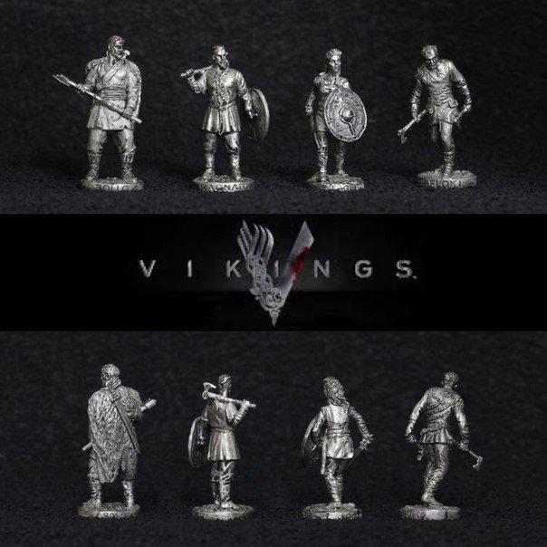 40mm Vikings metal miniatures