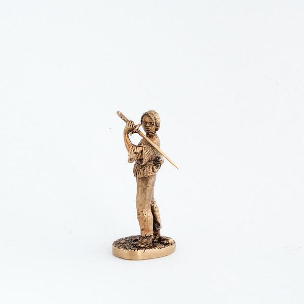 40mm Arya Stark, Game Of Thrones brass miniature