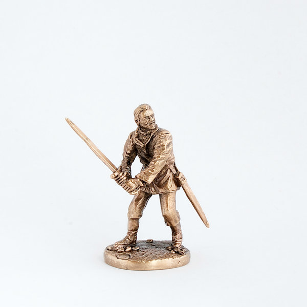 40mm Bronn, Game Of Thrones brass miniature