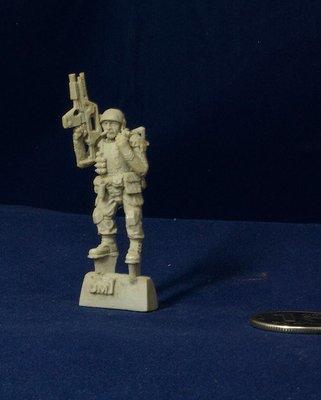 Aliens movie 28mm Colonial Marine miniature UM1
