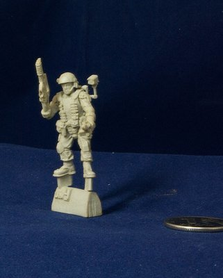 Aliens movie 28mm Colonial Marine miniature UM4