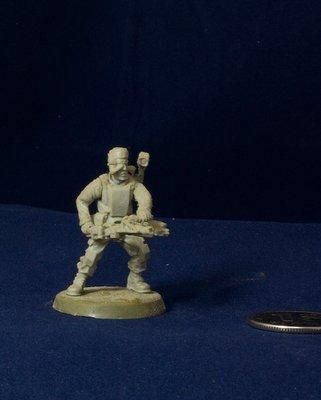 Aliens movie 28mm Colonial Marine miniature UM5