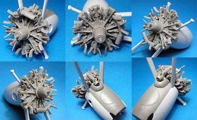 1/48 Walrus engine set (for Airfix kit), Vector resin: #VDS48-118