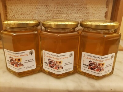 Raw Liquid London Honey - 8oz