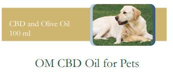 OM CBD Oil for Pets (100ml)