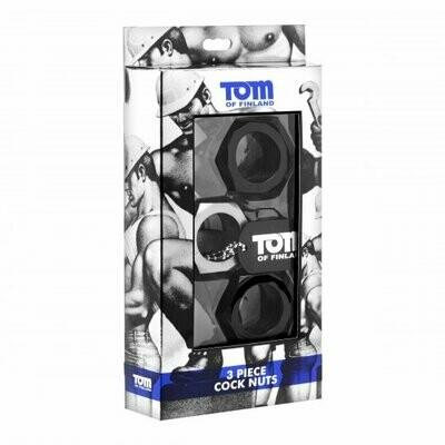 Tom of Finland 3-piece C.Ring Set