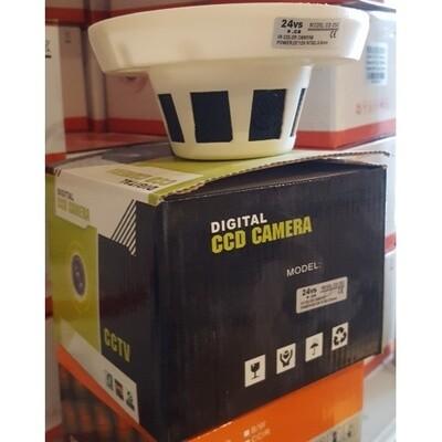 Caméra de Surveillance couleur détecteur de fumée 550TVL