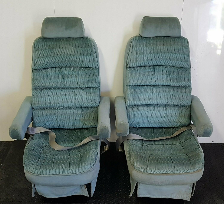 Removable RV Captain Seats