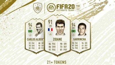 FIFA 20 Icon Swaps Set 3