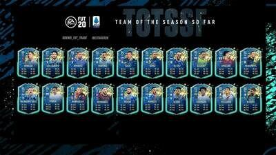 FIFA 20 FUT Champions - Elite 1 TOTSSF Serie A