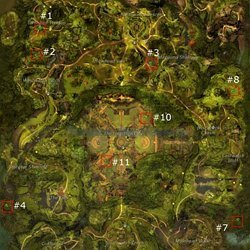 GW2 Tyria Map Completion