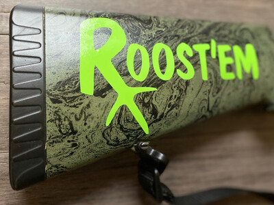 Roostem Turkey Track Decal