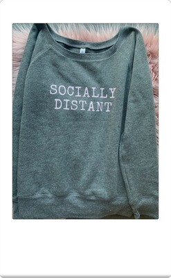 Socially distant sweatshirt