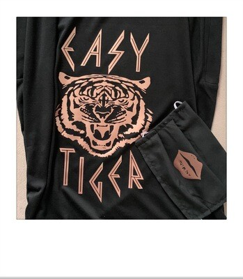 Easy Tiger Tee + Mask