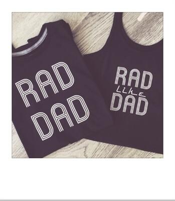 Rad Like Dad Tee