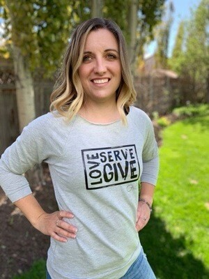 Love • Serve • Give Pullover