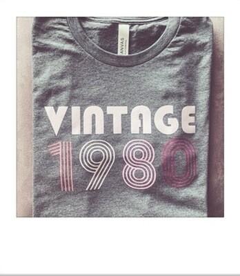 Retro Vintage 1980 Tee