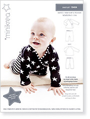 Sewing pattern for Wrap shirt & Trousers