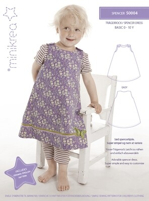 Sewing pattern for Spencer dress