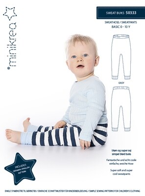 Sewing pattern for Sweatpants
