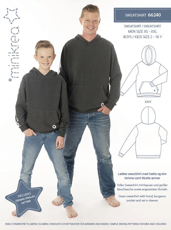 Naaipatroon Sweatshirt
