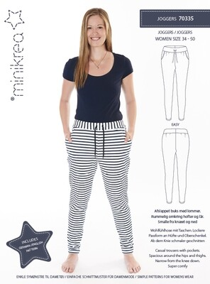 Sewing pattern for Joggers