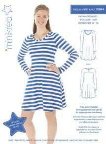 Sewing pattern for Raglan Knit Dress