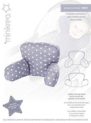 Sewing pattern for Baby Carriage Pillow