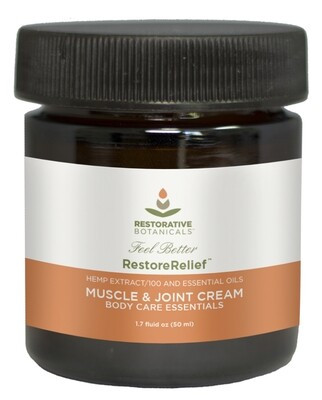 Restore Relief™ Cooling Muscle and Joint Cream