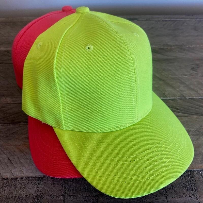 Neon caps