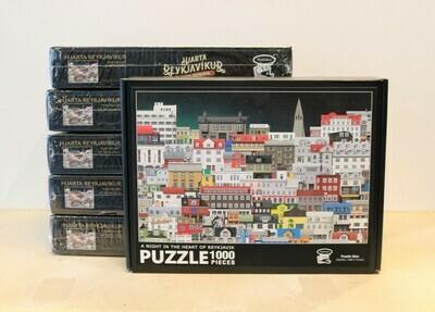 Reykjavik Puzzle - A Night