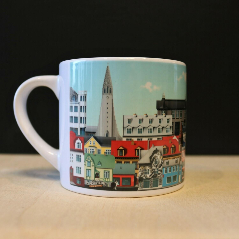 Small Reykjavik mug