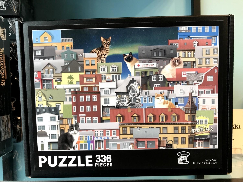 Reykjavík puzzle for older kids