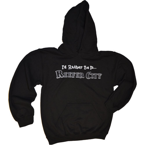 """""""I'd Rather Be In...Reefer City"""" Hoodie"""