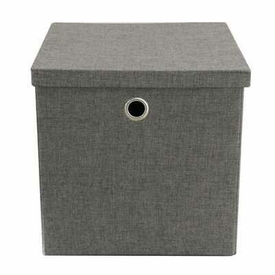 91069 Caja grande plegable de tela para almacenar
