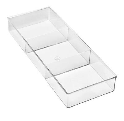 91068 Organizador para cajón con 3 divisiones