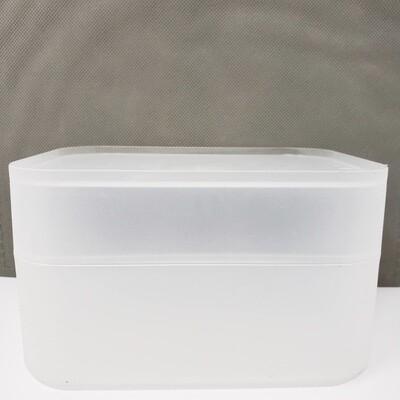 91086 Organizador con tapa para artículos de papelería
